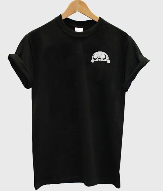 Adventure Time Pocket T Shirt Newgraphictees Com