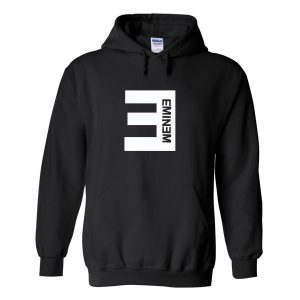 Eminem font black Hoodies