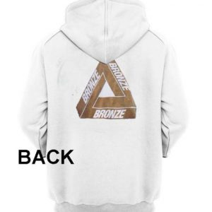 bronze white color Hoodies