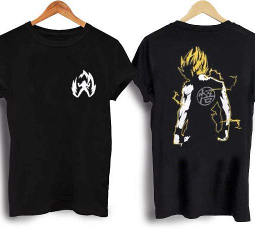 train super saiyan goku T-Shirt - newgraphictees.