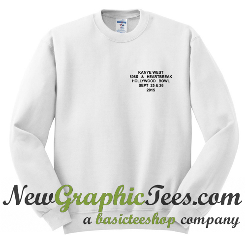 Kanye West 808s Heartbreak Sweatshirt