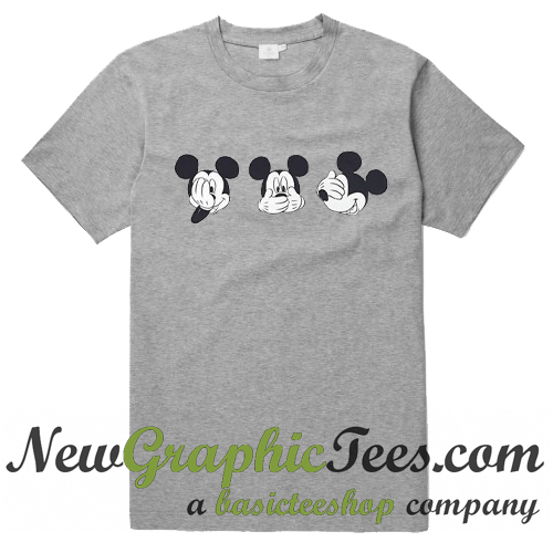 Mickey Mouse Expression T Shirt
