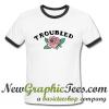 Troubled Rose Ringer Shirt