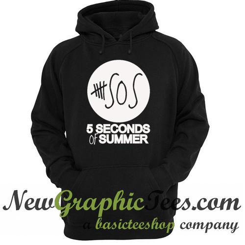 5SOS 5 Seconds of Summer Logo Hoodie