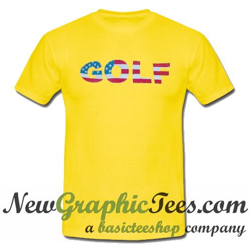 Golf Wang American Flag T Shirt
