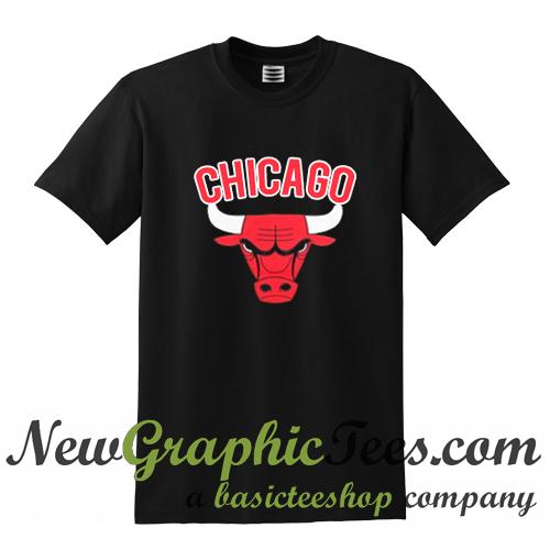 chicago bulls logo t shirt. Black Bedroom Furniture Sets. Home Design Ideas