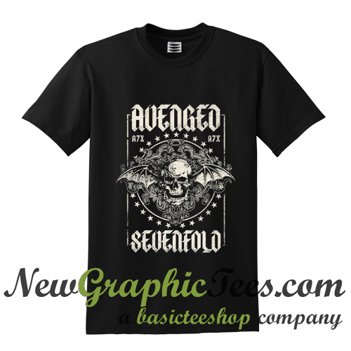 avenged sevenfold damen t shirt. Black Bedroom Furniture Sets. Home Design Ideas