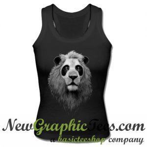 Panda Lion Cute Tank Top