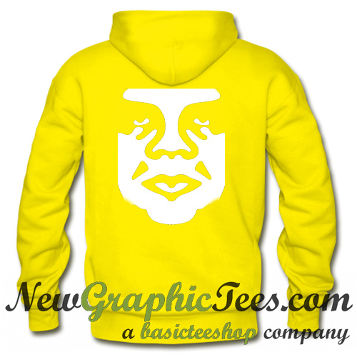 Andre The Giant Logo Hoodie Back