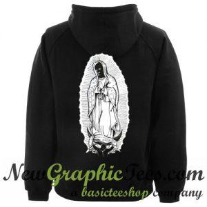 Badwood Virgin Mary Hoodie Back