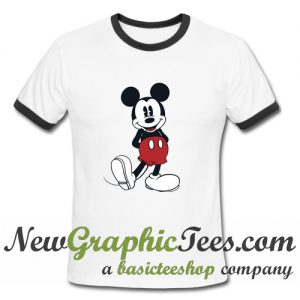 Mickey Mouse Ringer Shirt