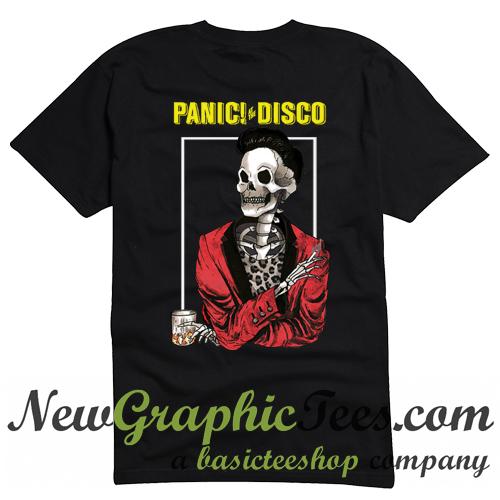 967baa5c Panic! At The Disco Announce Death Of A Bachelor Tour T Shirt Back -  newgraphictees.com Panic! At The Disco Announce Death Of A Bachelor Tour T  Shirt Back