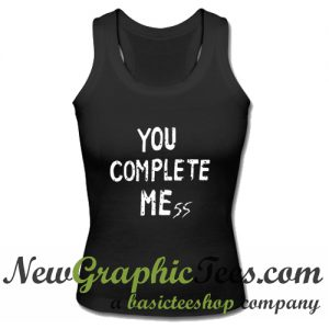 5 Seconds Of Summer You Complete Mess Luke Hemmings Tank Top