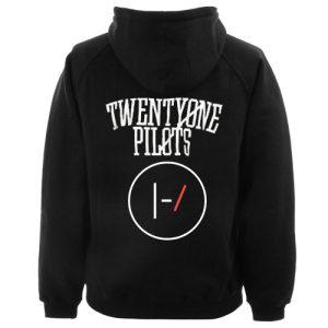 Twenty One Pilots Logo Hoodie Back