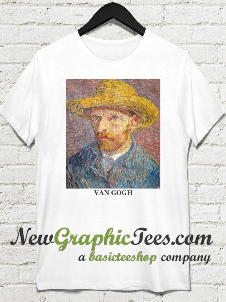 Van Gogh portrait with hat T Shirt