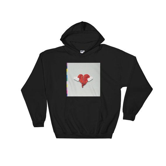 Kanye West 808s & Heartbreak Hoodie