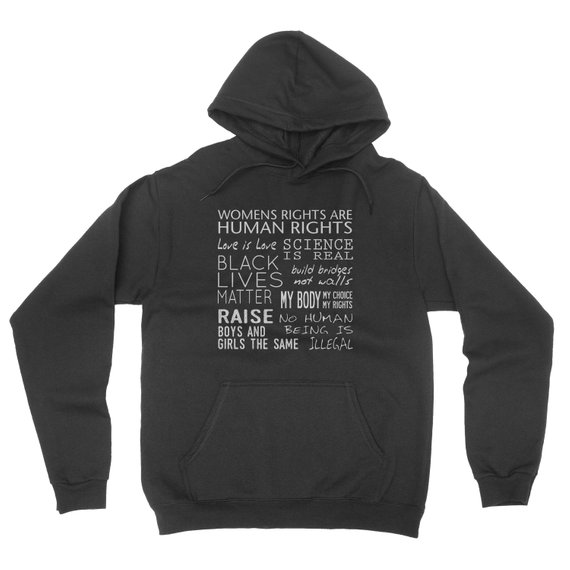 Women Rights Human Rights Hoodie