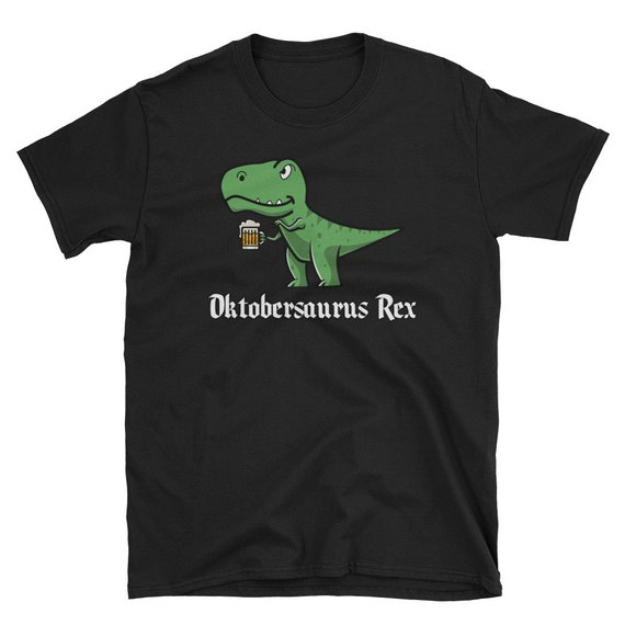 Oktobersaurus Rex Oktoberfest Unisex T-Shirt