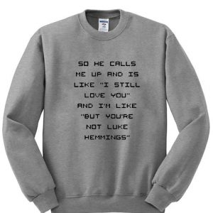 5sos fam luke hemmings sweatshirt
