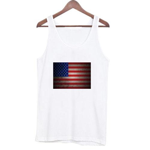 America Flag tanktop