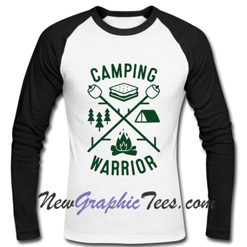 Camping Warrior Raglan Longsleeve