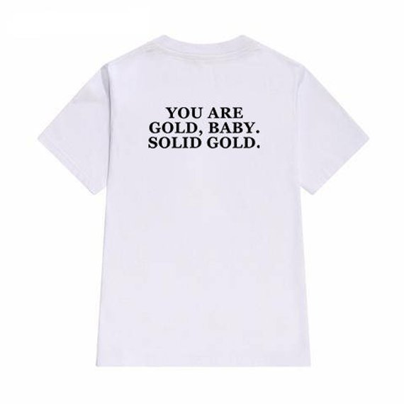 You Are Gold Baby T Shirt Back