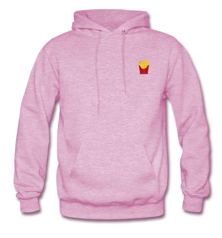 french fry hoodie