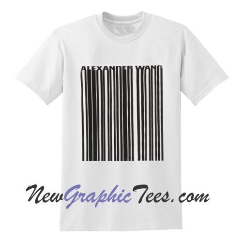 Alexander Wang Unisex T-Shirt
