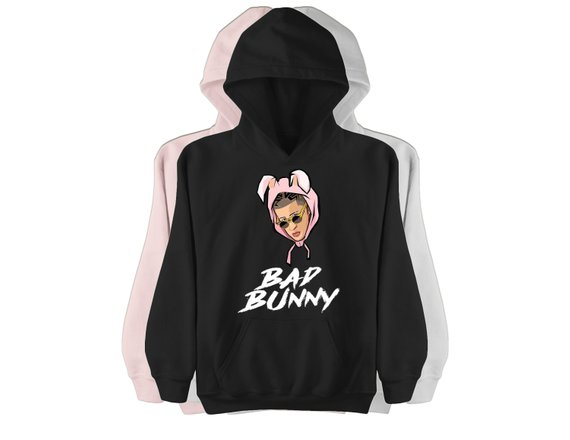 Bad bunny Unisex Pullover Hoodie