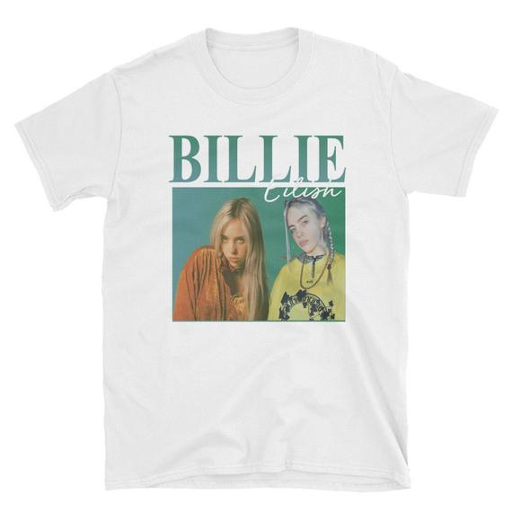 5baf952f Billie Eilish Shirt Information and Ideas - Herz Intakt