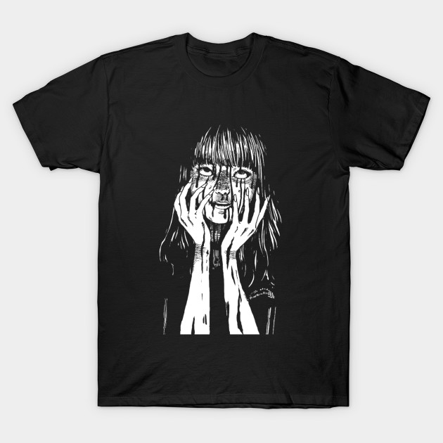 Junji Ito Anything but a Ghost T Shirt