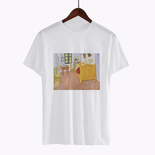 The Bedroom, 1888 by Vincent van Gogh T Shirt