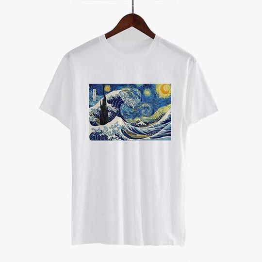 The Great Wave off Kanagawa T Shirt
