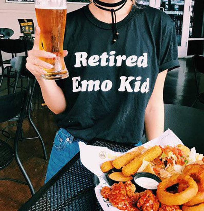 Retired Emo Kid Tshirt