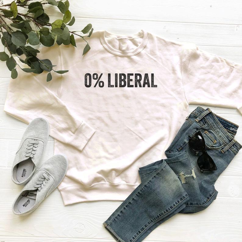 0 % Liberal Sweatshirt