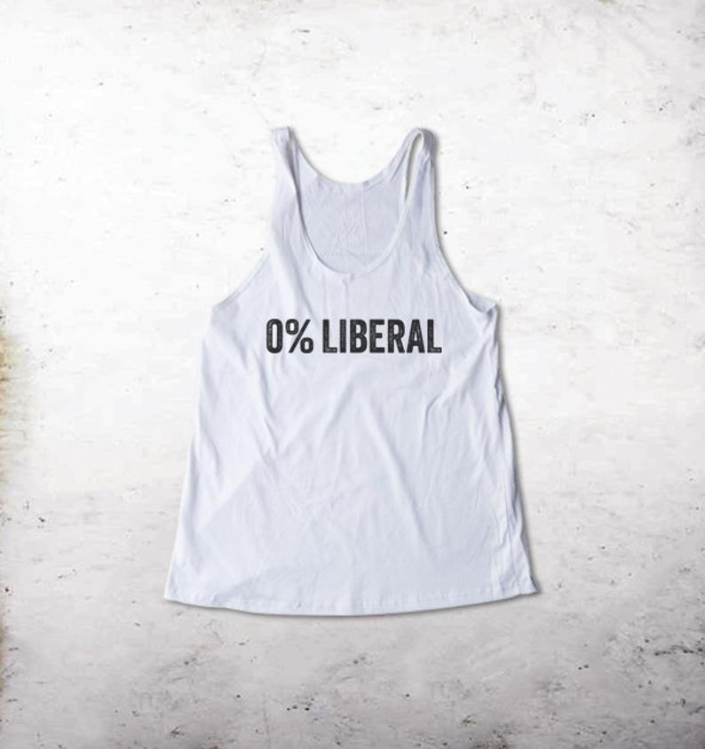 0 % Liberal Tank Top