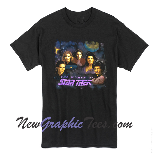 Women of Star Trek '94 T-shirt