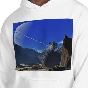 Alien Planet Graphic Unisex Hoodie