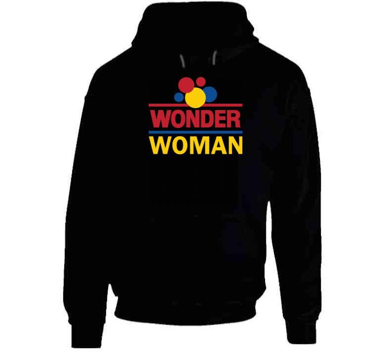 Wonder Woman Wonder Bread Christmas Gift Hoodie