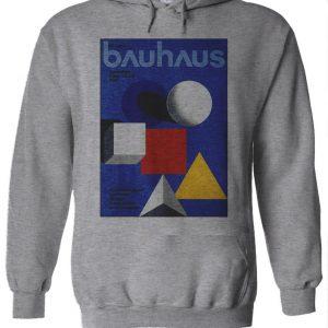 Bauhaus Kandinsky's Triangle Square Hoodie