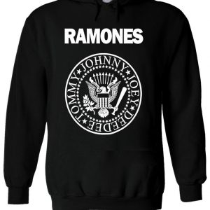 The Ramones American Punk Rock Band Hoodie
