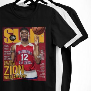 Zion Williamsion SLAM Cover T-Shirt