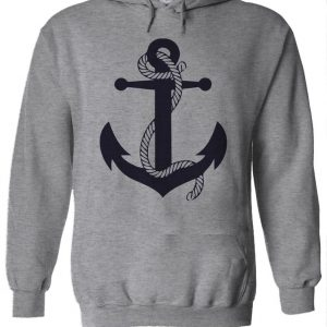 Anchor Sailor Navy Hoodie