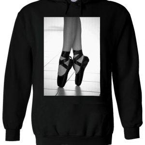 Ballet Dancer Foot Feet Artistic Hoodie