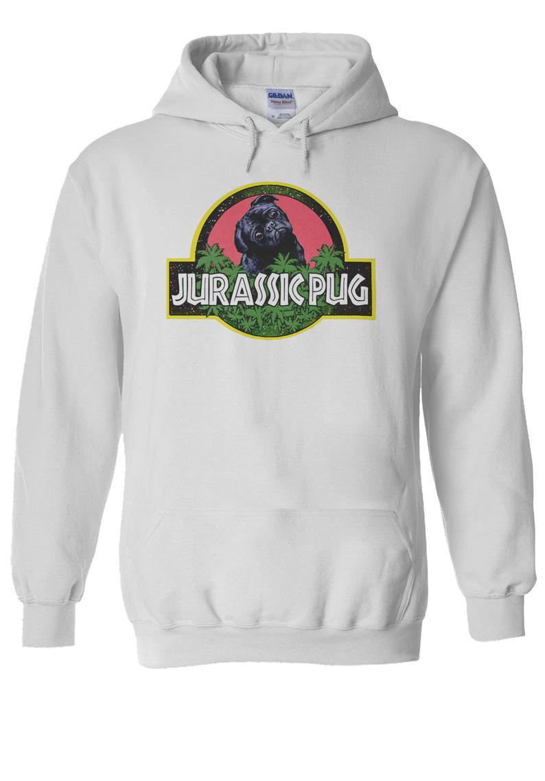 Jurassic Pug Hoodie