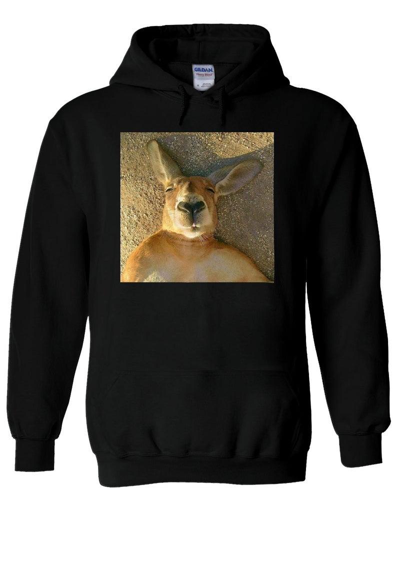 Kangaroo Wombat Sleeping Instagram Hoodie