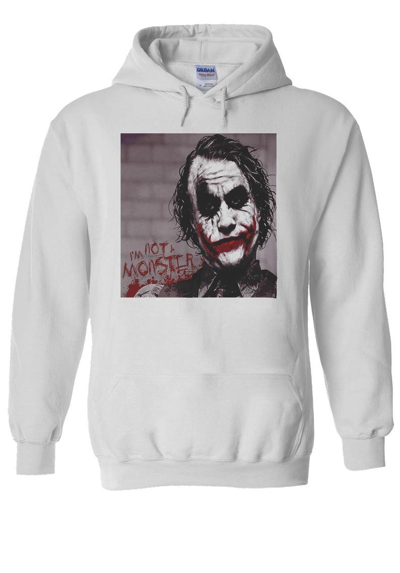 The Joker Heath Ledger Swag Hipster Hoodie