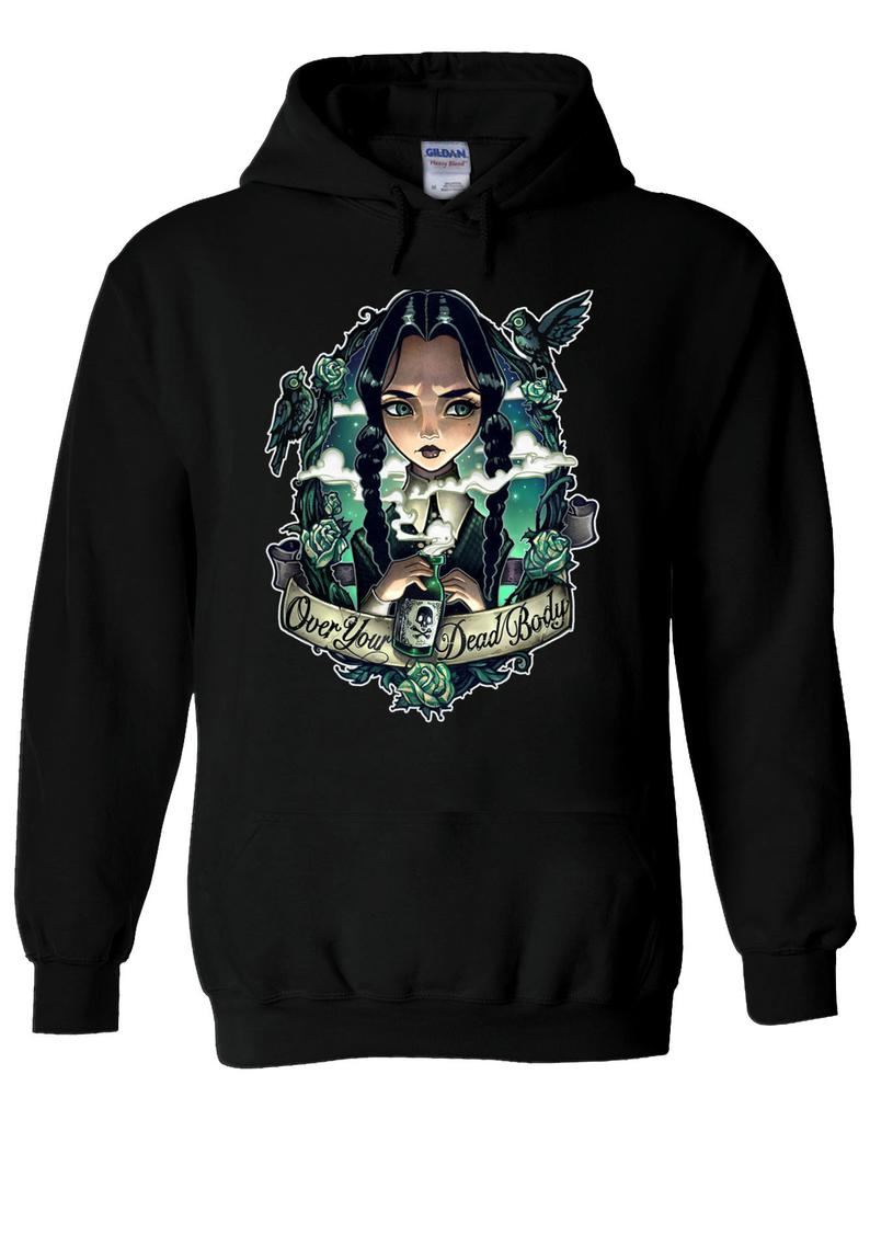 Wednesday Addams The Addams Family Hoodie