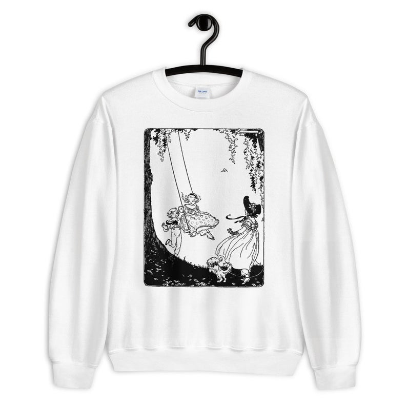 19th century children's books Kawaii Aesthetic Sweatshirt