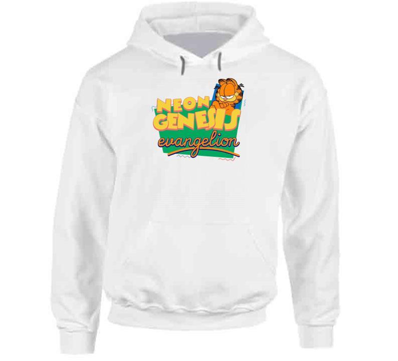 Neon Genesis Evangelion Garfield Parody Hoodie